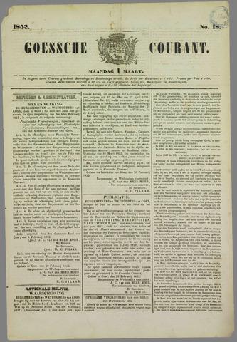 Goessche Courant 1852-03-01
