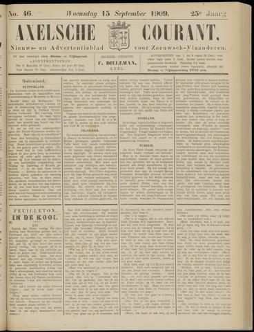 Axelsche Courant 1909-09-15