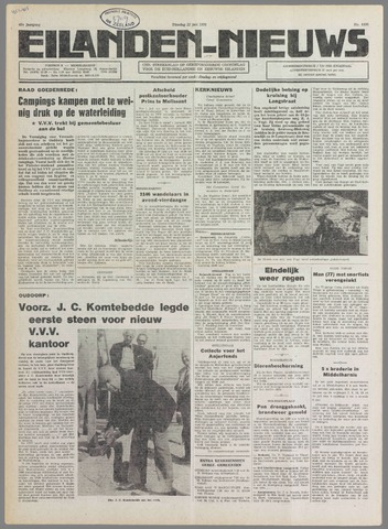 Eilanden-nieuws. Christelijk streekblad op gereformeerde grondslag 1976-06-22