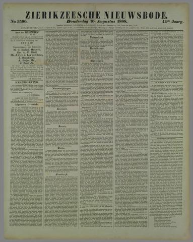 Zierikzeesche Nieuwsbode 1888-08-16