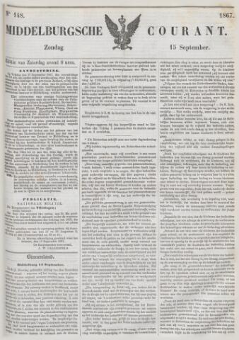 Middelburgsche Courant 1867-09-15