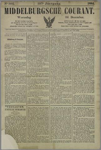 Middelburgsche Courant 1884-12-24
