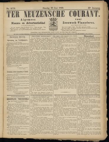Ter Neuzensche Courant. Algemeen Nieuws- en Advertentieblad voor Zeeuwsch-Vlaanderen / Neuzensche Courant ... (idem) / (Algemeen) nieuws en advertentieblad voor Zeeuwsch-Vlaanderen 1899-06-20