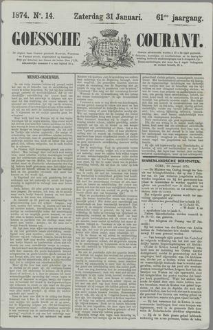 Goessche Courant 1874-01-31