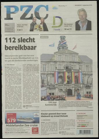 Provinciale Zeeuwse Courant 2014-09-01