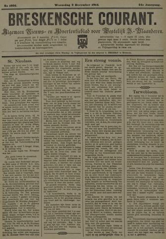Breskensche Courant 1914-12-02