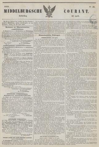 Middelburgsche Courant 1853-04-23