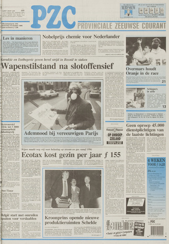 Provinciale Zeeuwse Courant 1995-10-12