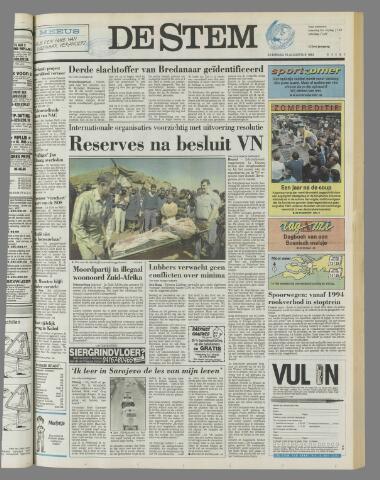 de Stem 1992-08-15