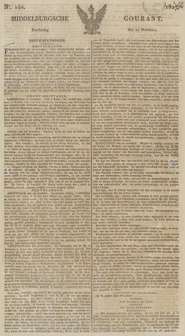 Middelburgsche Courant 1827-11-22
