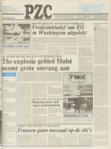 Provinciale Zeeuwse Courant 1981-02-06