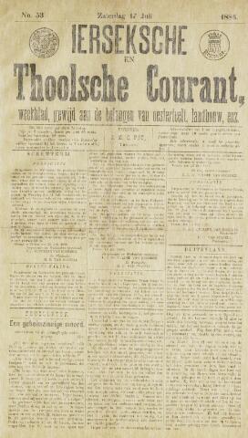 Ierseksche en Thoolsche Courant 1886-07-17