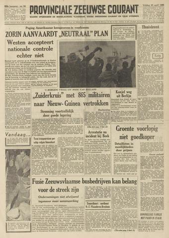 Provinciale Zeeuwse Courant 1962-04-20