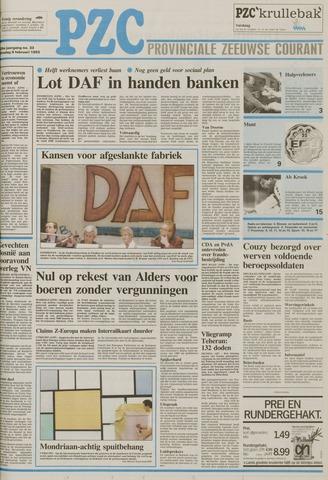 Provinciale Zeeuwse Courant 1993-02-09