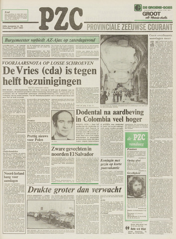Provinciale Zeeuwse Courant 1983-04-02