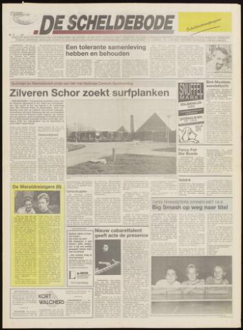 Scheldebode 1991-11-27