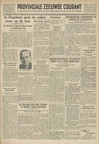 Provinciale Zeeuwse Courant 1949-07-15