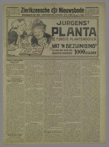 Zierikzeesche Nieuwsbode 1923-10-24