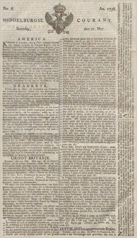 Middelburgsche Courant 1758-05-27