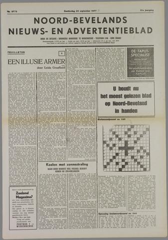 Noord-Bevelands Nieuws- en advertentieblad 1977-09-29