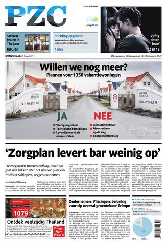 Provinciale Zeeuwse Courant 2015-02-12