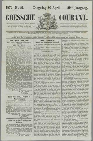 Goessche Courant 1872-04-30