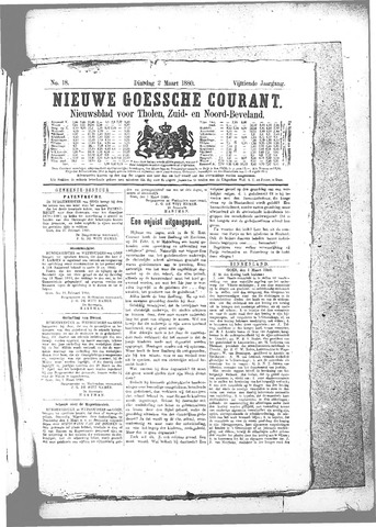 Nieuwe Goessche Courant 1880-03-02