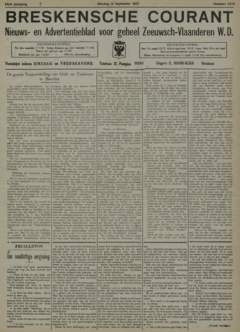 Breskensche Courant 1937-09-14