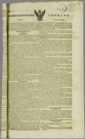 Middelburgsche Courant 1836