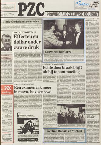 Provinciale Zeeuwse Courant 1987-12-11