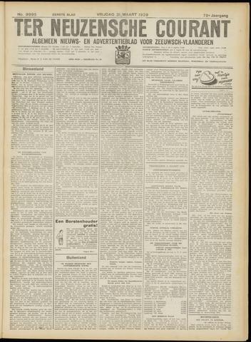Ter Neuzensche Courant. Algemeen Nieuws- en Advertentieblad voor Zeeuwsch-Vlaanderen / Neuzensche Courant ... (idem) / (Algemeen) nieuws en advertentieblad voor Zeeuwsch-Vlaanderen 1939-03-31
