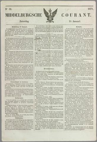 Middelburgsche Courant 1871-01-14