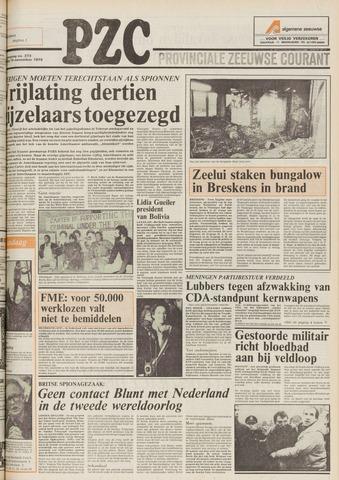 Provinciale Zeeuwse Courant 1979-11-19
