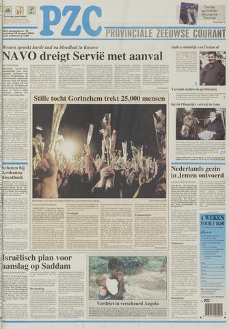 Provinciale Zeeuwse Courant 1999-01-18
