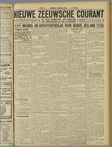 Nieuwe Zeeuwsche Courant 1926-11-04
