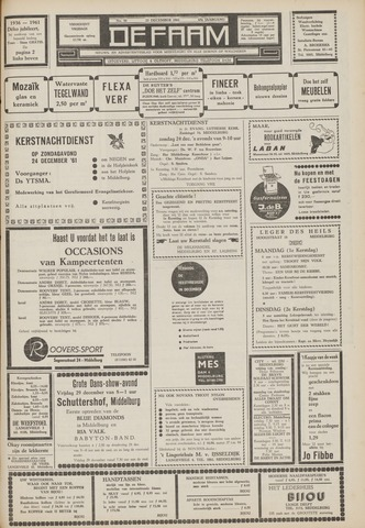 de Faam en de Faam/de Vlissinger 1961-12-22