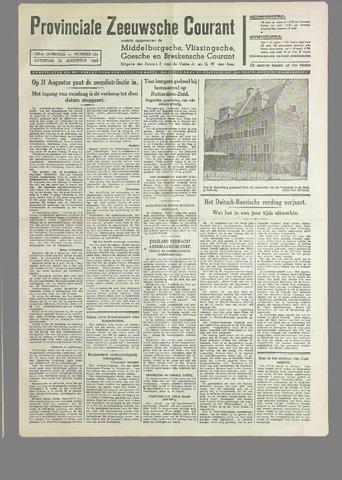 Provinciale Zeeuwse Courant 1940-08-24