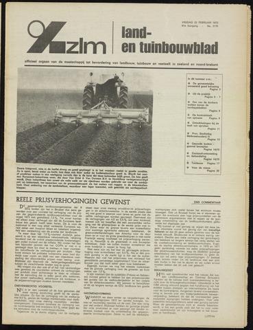 Zeeuwsch landbouwblad ... ZLM land- en tuinbouwblad 1973-02-23