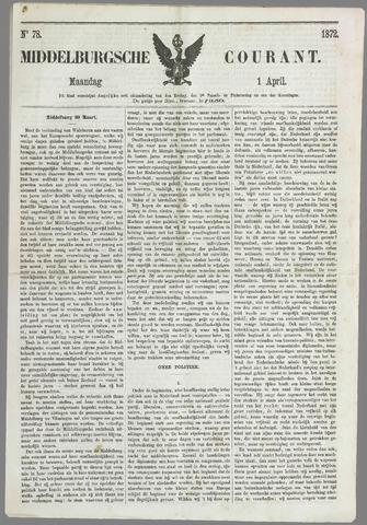 Middelburgsche Courant 1872-04-01