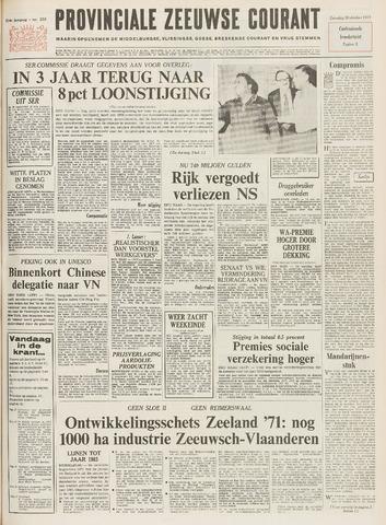 Provinciale Zeeuwse Courant 1971-10-30