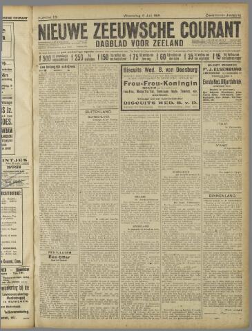 Nieuwe Zeeuwsche Courant 1921-07-06