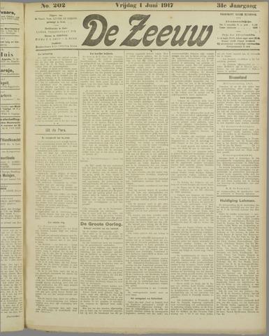 De Zeeuw. Christelijk-historisch nieuwsblad voor Zeeland 1917-06-01