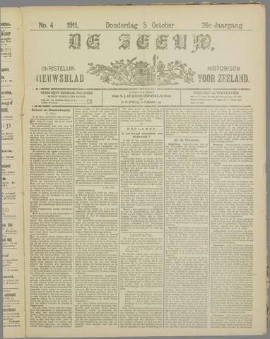 De Zeeuw. Christelijk-historisch nieuwsblad voor Zeeland 1911-10-05