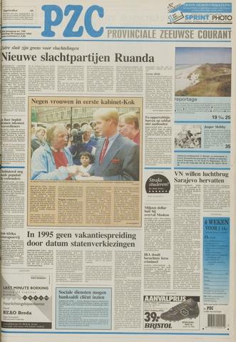 Provinciale Zeeuwse Courant 1994-08-20