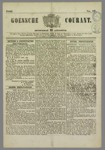 Goessche Courant 1852-08-19