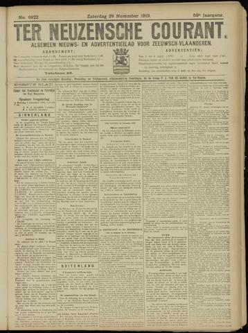 Ter Neuzensche Courant. Algemeen Nieuws- en Advertentieblad voor Zeeuwsch-Vlaanderen / Neuzensche Courant ... (idem) / (Algemeen) nieuws en advertentieblad voor Zeeuwsch-Vlaanderen 1919-11-29