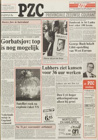 Provinciale Zeeuwse Courant 1986-04-21