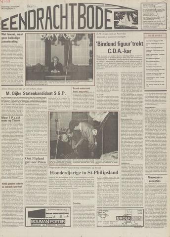 Eendrachtbode (1945-heden)/Mededeelingenblad voor het eiland Tholen (1944/45) 1982