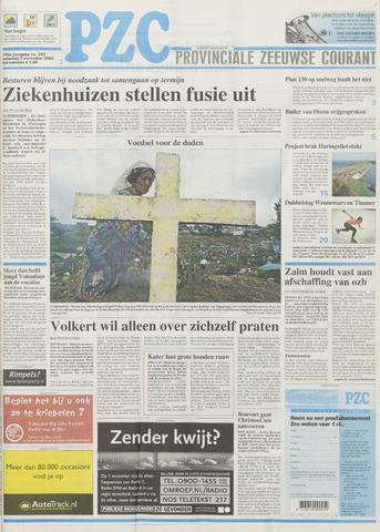Provinciale Zeeuwse Courant 2002-11-02