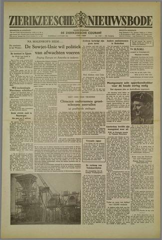 Zierikzeesche Nieuwsbode 1952-10-08